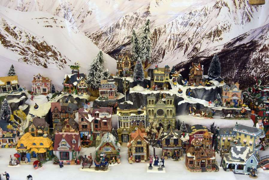 Christmas model village to fundraise money for MAPGAS and SSAFA
