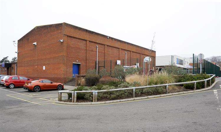 Swaffham's current leisure centre