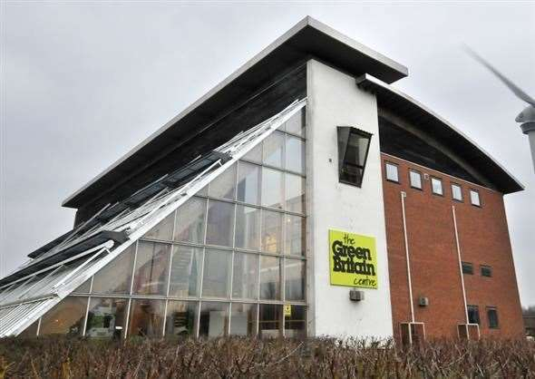 The closed Green Britain Centre at Swaffham