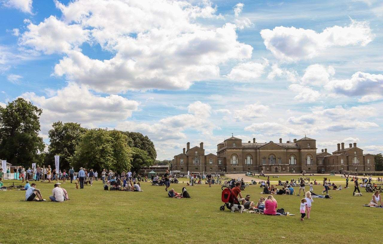 A picture from Holkham Hall 's Feast In The Park in 2012. Holkham Park is among the safest in the UK for social distancing. (38640978)
