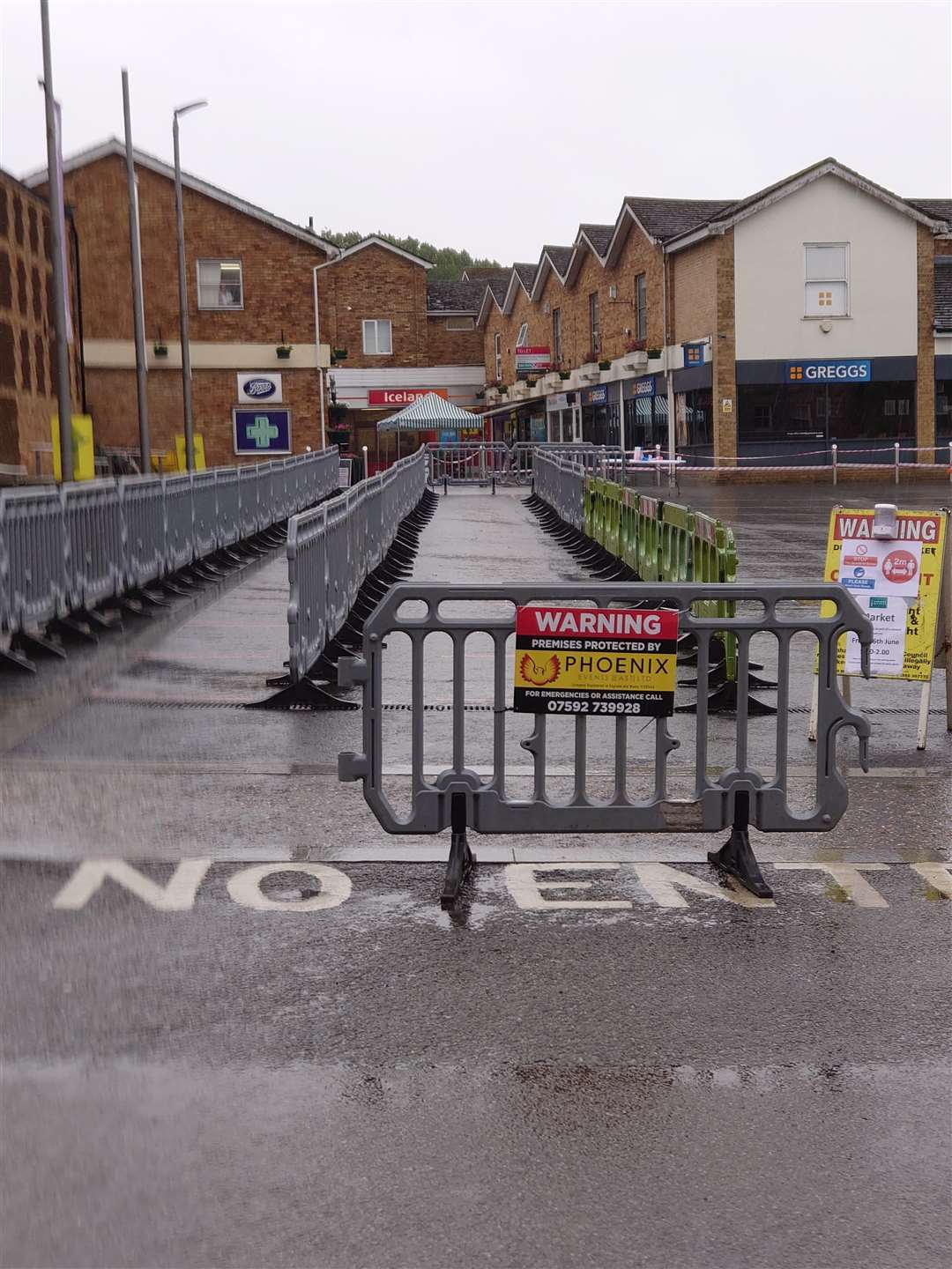 Downham Market's market reopens on Friday, June 5, 2020. Picture: Phoenix Events (36238331)