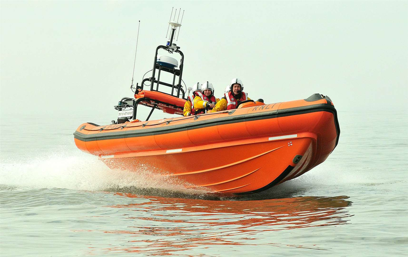 Hunstanton's lifeboat has been called out to rescue three girls off the West Norfolk coast