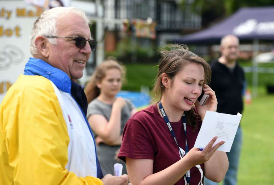 King's Lynn Lions Family Fun Day, The Walks ''BBC Radio Norfolk Treasure Hunt presenter Anna Perrott