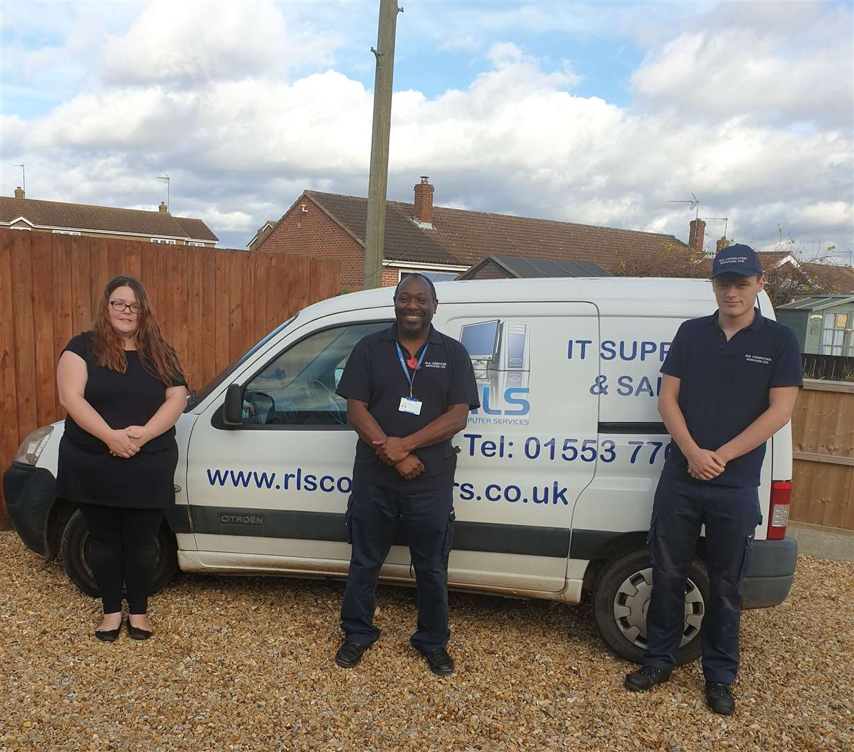 The team from RLS Computer Services Ltd which recommends the Trusted Trader scheme (43158356)