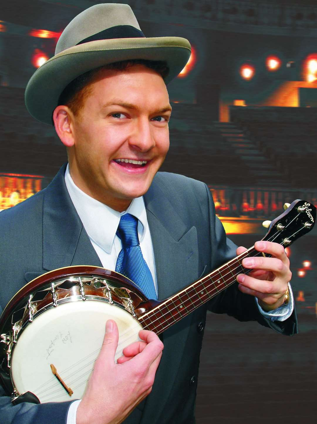 Andy Eastwood as George Formby