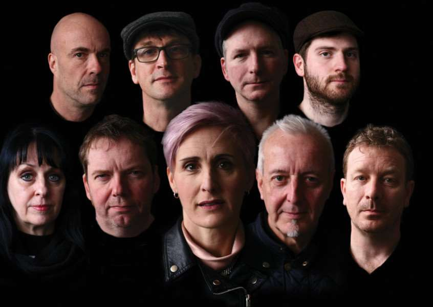 The South are:'Alison Wheeler (Vocals), Gaz Birtles (Vocals), Phil Barton (Guitars), Steve Nutter (Bass), Dave Anderson (Drums), Karl Brown (Percussion), Gareth John (Trumpet), Su Robinson (Sax), Andy Price (Keys).