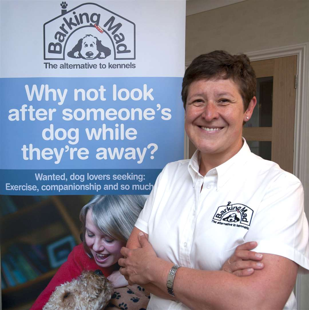 Tania Stowe, of Hunstanton, who operates the North West Norfolk branch of Barking Mad. (10446995)