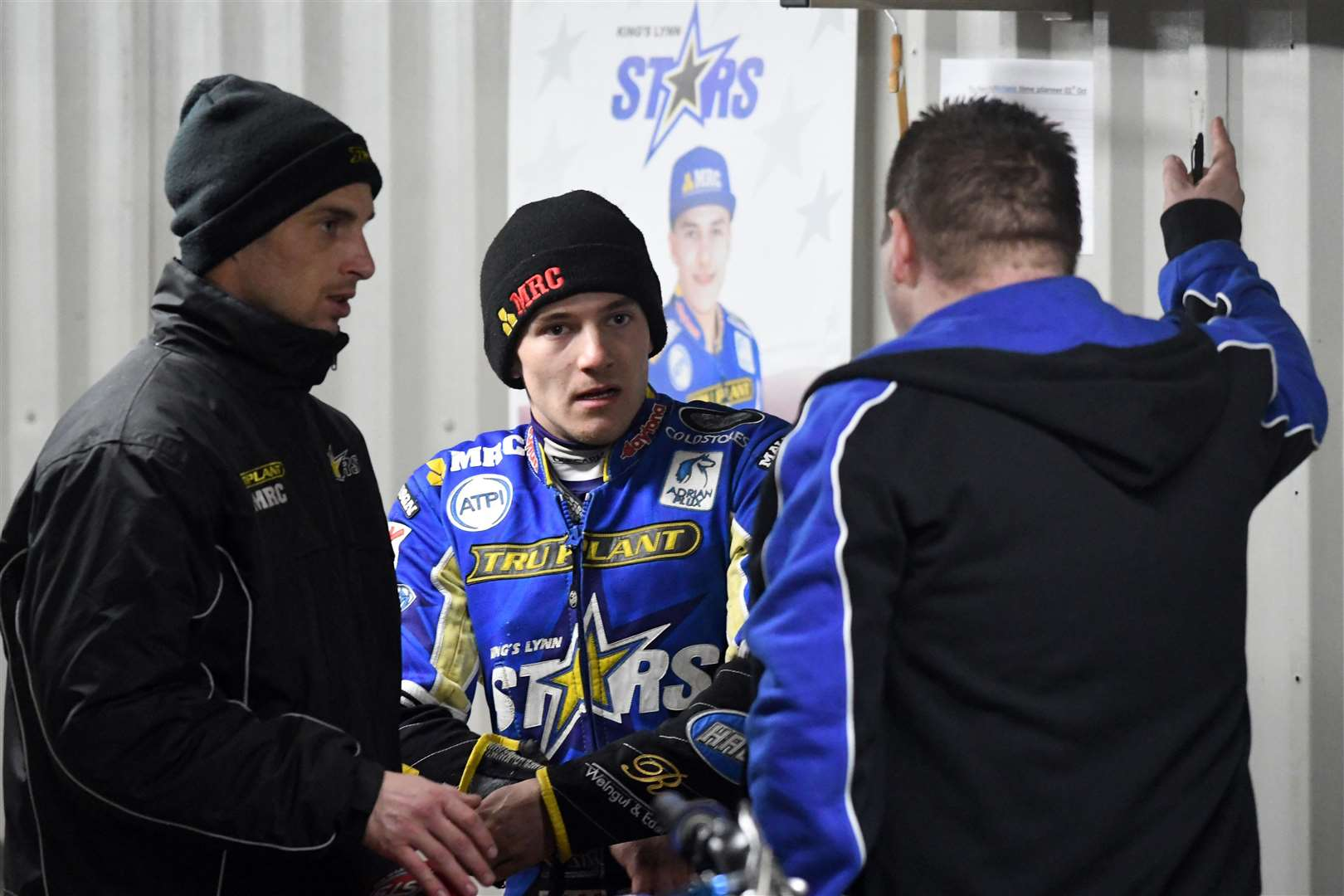 Kings Lynn Stars v Belle Vue. (4515941)