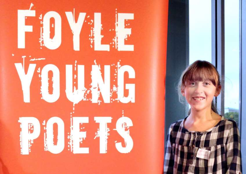 Glebe House School pupil Kitty Robinson named among the top 100 at The Foyle Young Poets of the Year Award 2017