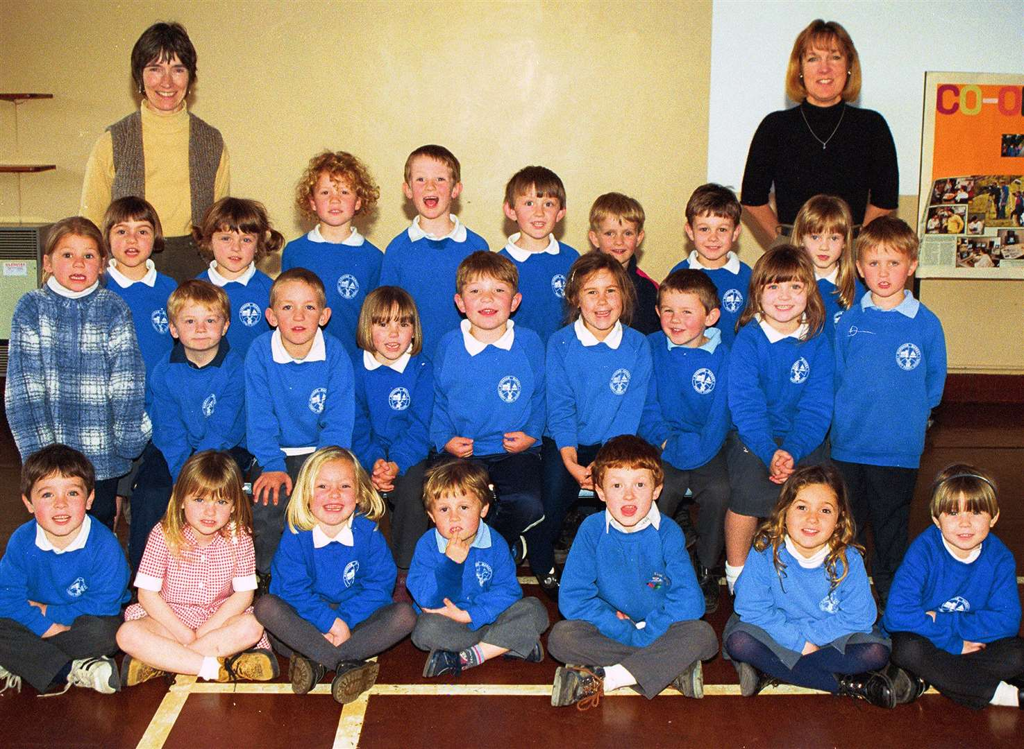 Picture From the Files of the Lynn News Archive..Burnham Market Primary School Classroom Call