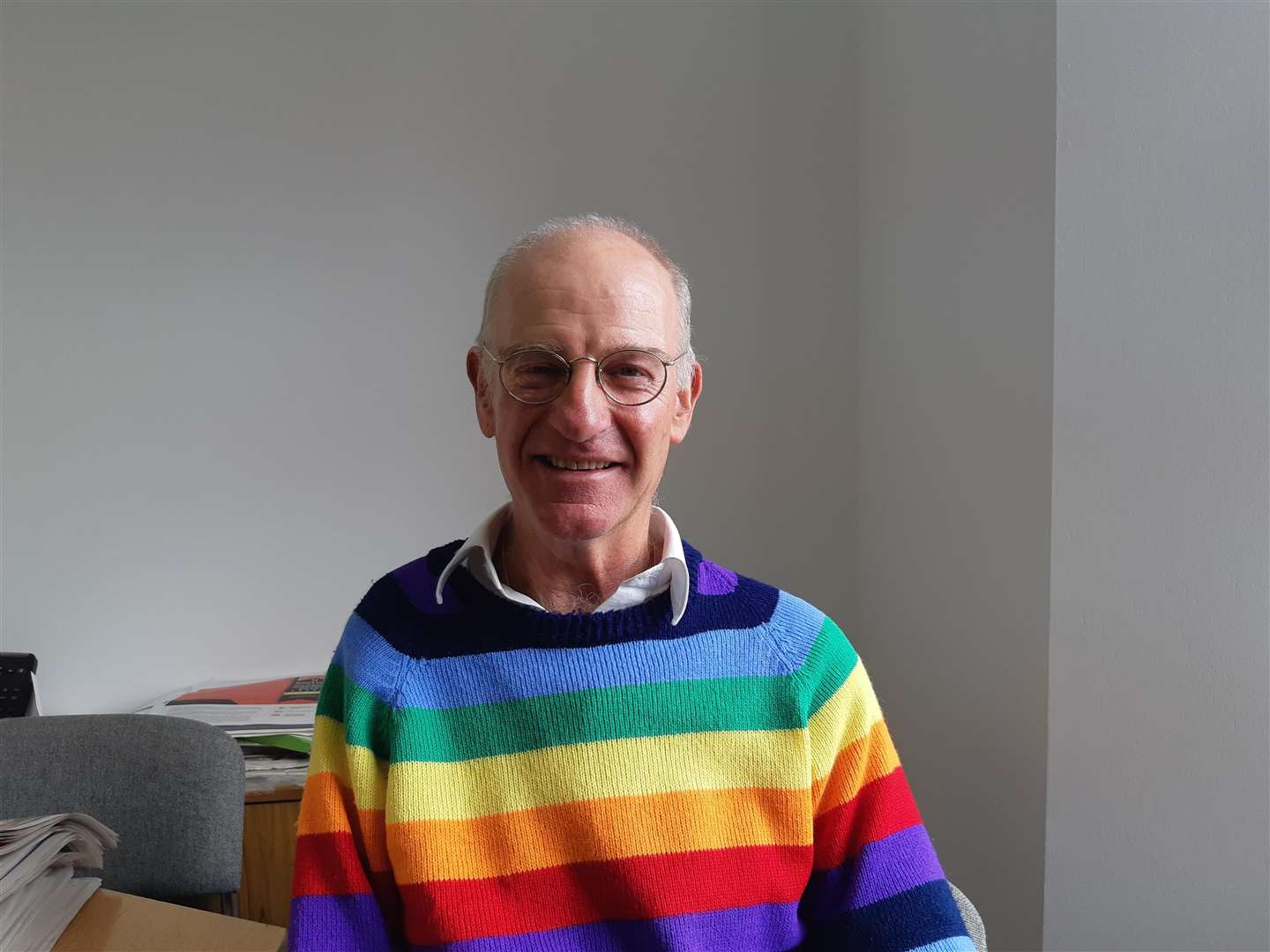 Jonathan Toye, who is retiring as co-ordinator of the West Norfolk Disability Information Service next year (4864707)