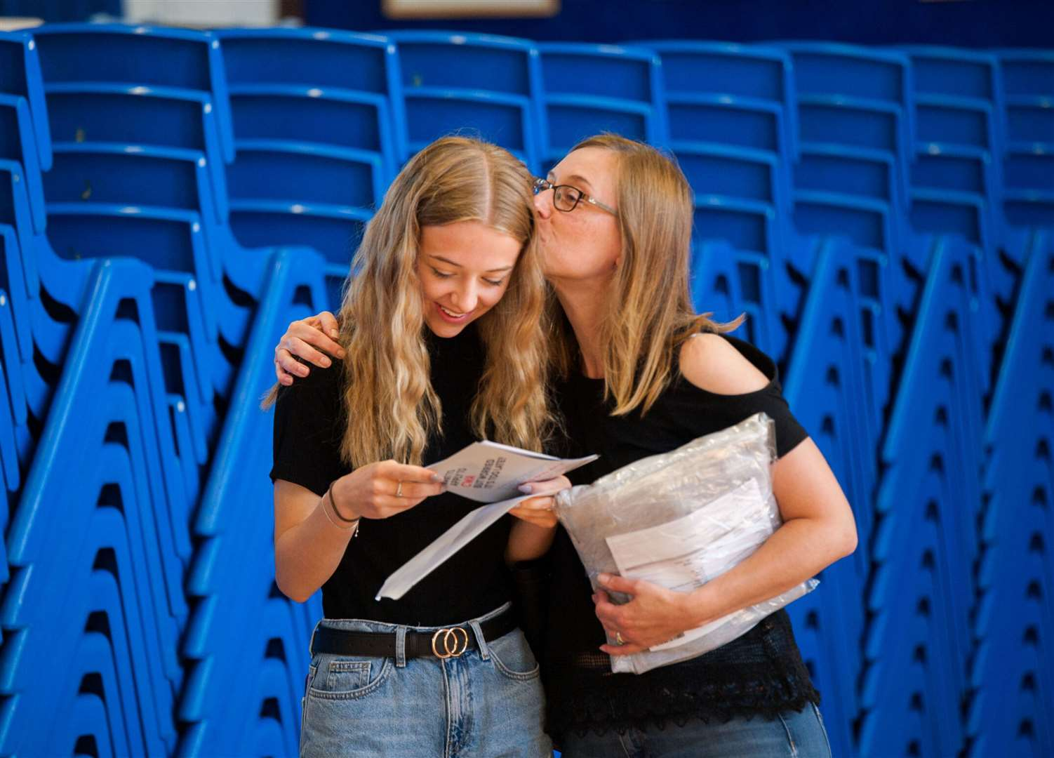 GCSE results day at Marshland High School. (40917534)