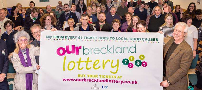 Breckland Council leaders are encouraged by the initial response to their new local lottery scheme (2135184)