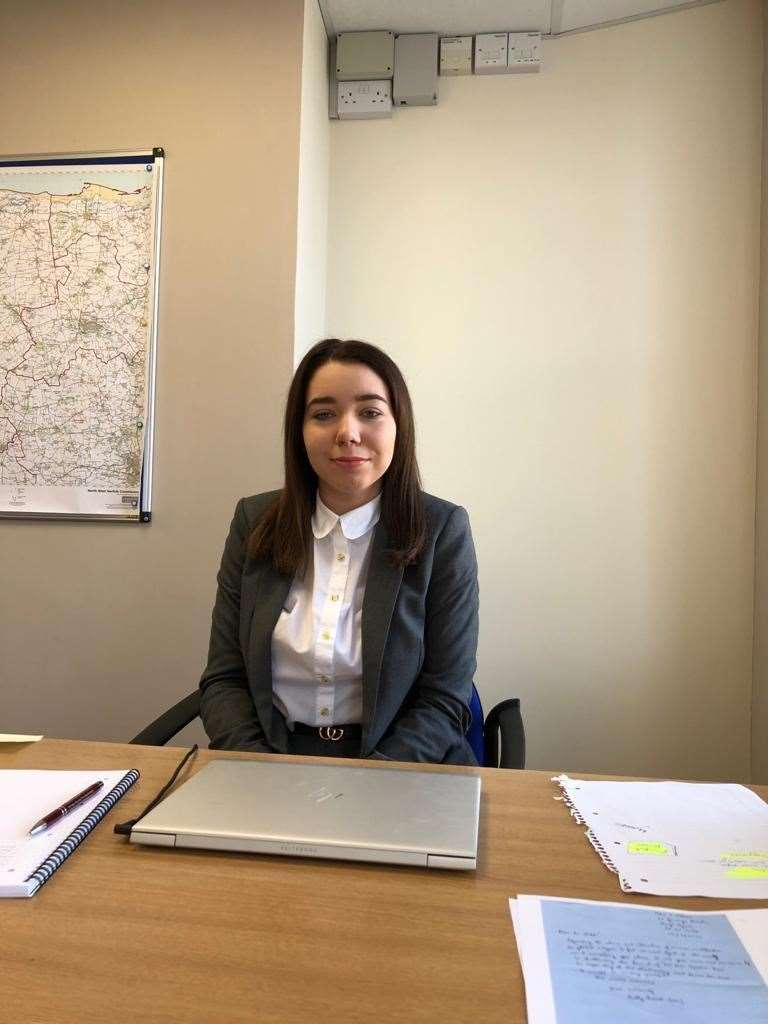 Olivia Morris has been offered a position as governor at Ashwicken School at the age of 18. Picture: SUBMITTED