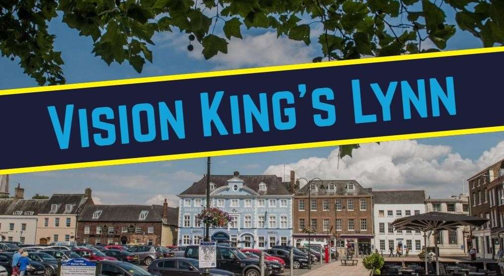 Vision King's Lynn is the collective name for funding and plans for the town (42215268)