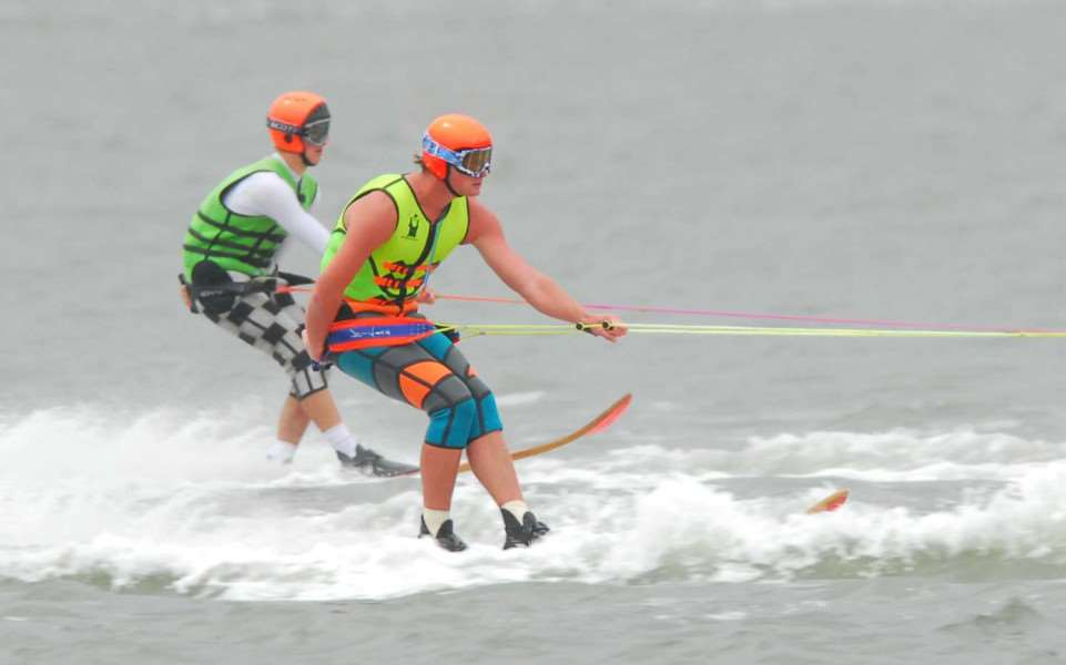 Hunstanton Water Ski club host their part of the British Waterski Championships.