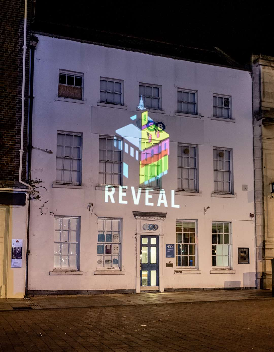 Scenes from the 2018 King's Lynn Christmas lights switch on, with the launch of REVEAL.