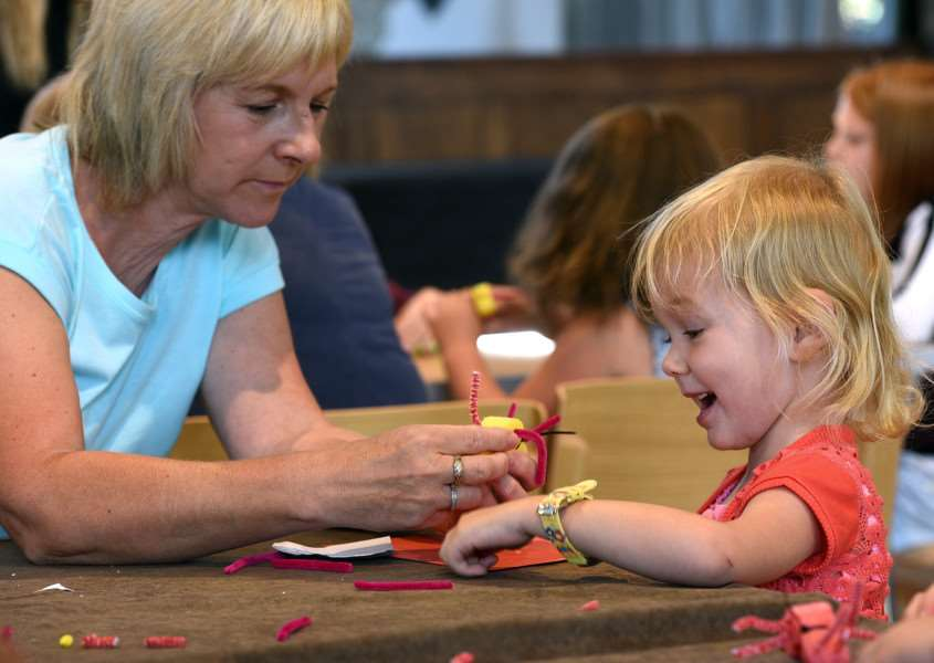 Brilliant Bugs craft activities, St Nicholas Chapel, ''Sue Christie and Harriet Bartrop 3